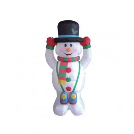 5 Foot Inflatable Snowman with Tophat