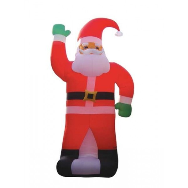 Foot tall inflatable santa claus