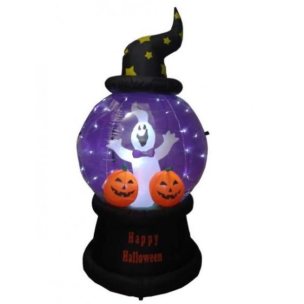 Foot halloween inflatable ghost pumpkins globe